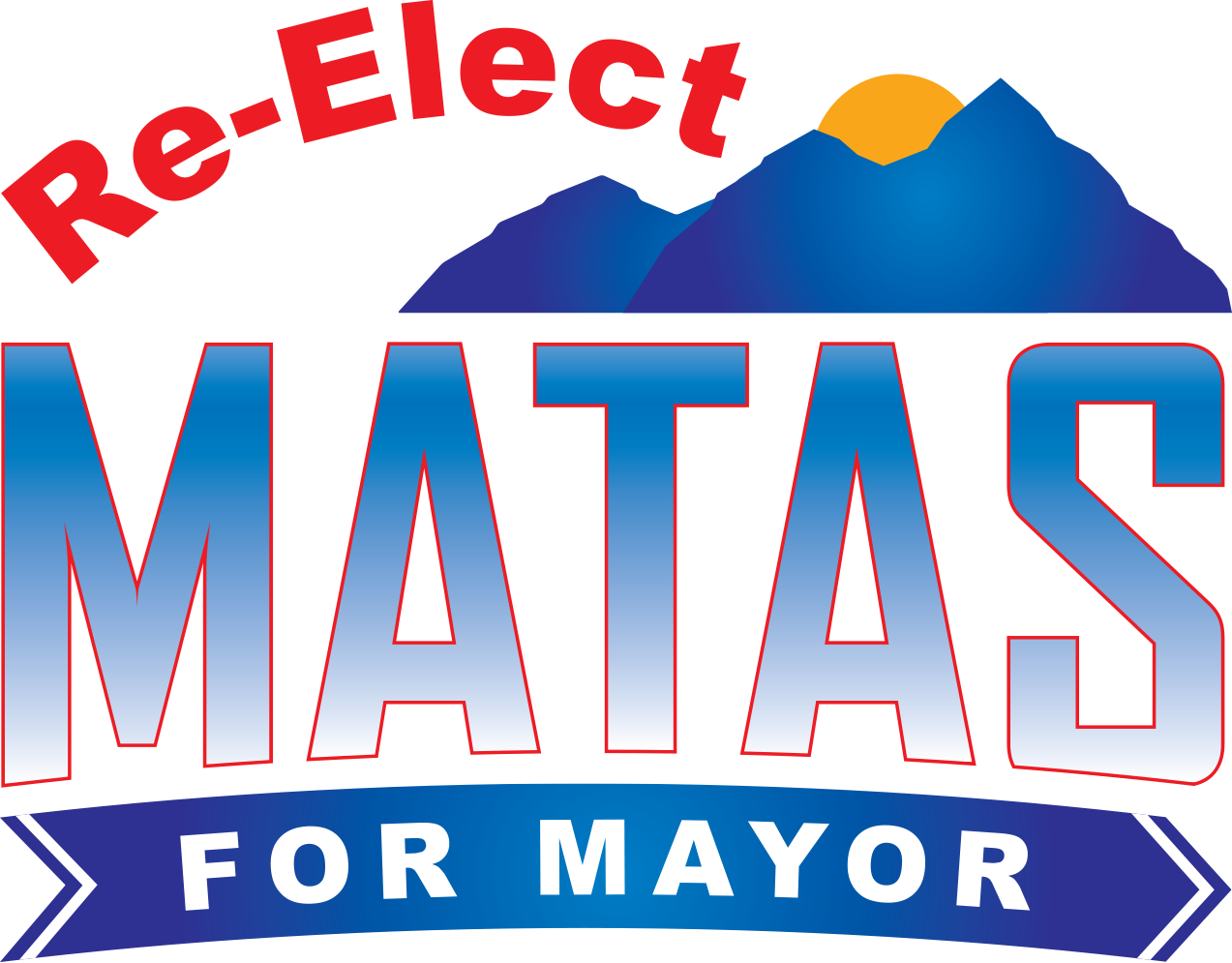 Re-elect Mayor Scott Matas